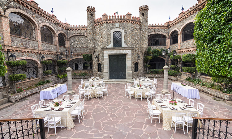 Events Space at Castillo Santa Cecilia